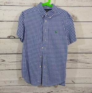 🔹CLASSIC Gingham Button Up
